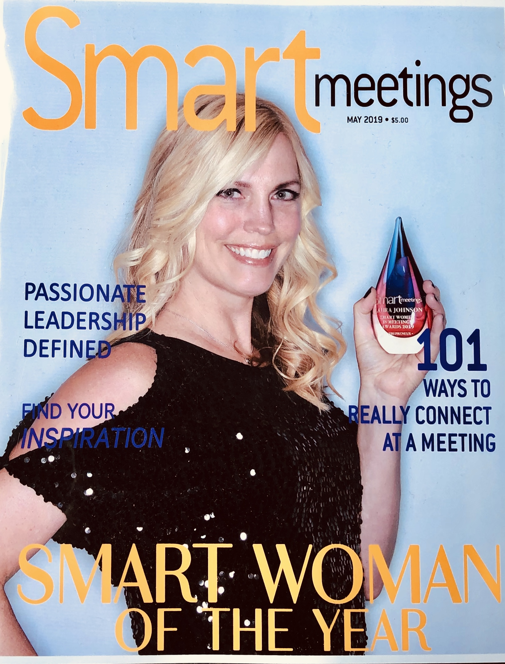 Laura Johnson Awarded 2019 SMART Woman of the Year